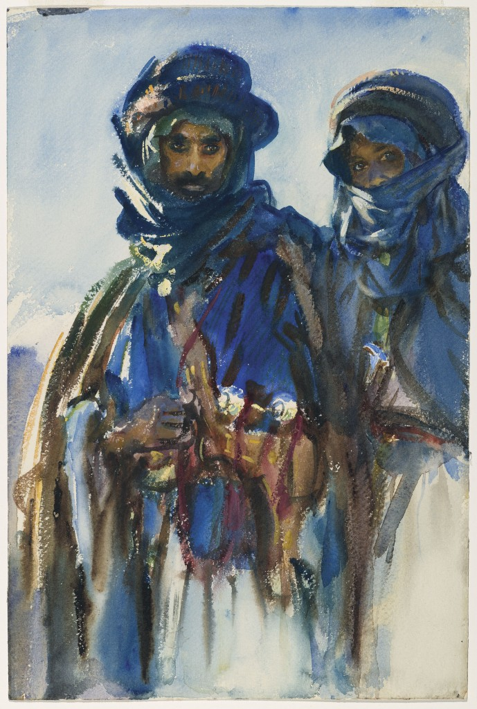 Bedouins, John Singer Sargent, 1905–1906, Watercolor  Purchased by Special Subscription. Courtesy of the Brooklyn Museum Courtesy, Museum of Fine Arts, Boston