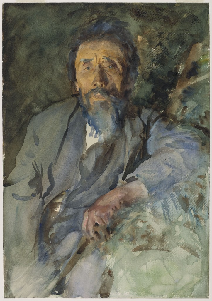 A Tramp, John Singer Sargent, about 1904–1906, Watercolor Purchased by Special Subscription Courtesy of the Brooklyn Museum Courtesy, Museum of Fine Arts, Boston