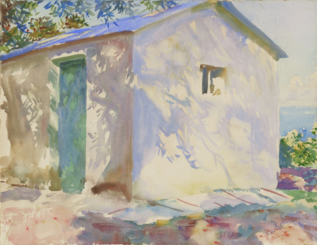 Corfu: Lights and Shadows, John Singer Sargent, 1909, Watercolor  Museum of Fine Arts, Boston. The Hayden Collection—Charles Henry Hayden Fund Photograph © Museum of Fine Arts, Boston