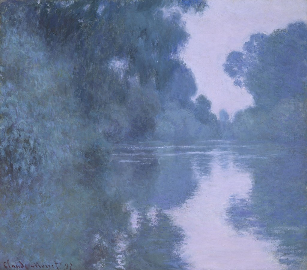 Morning on the Seine, near Giverney, Claude Monet, 1897 Gift of Mrs. W. Scott Fitz, Photograph © Museum of Fine Arts, Boston