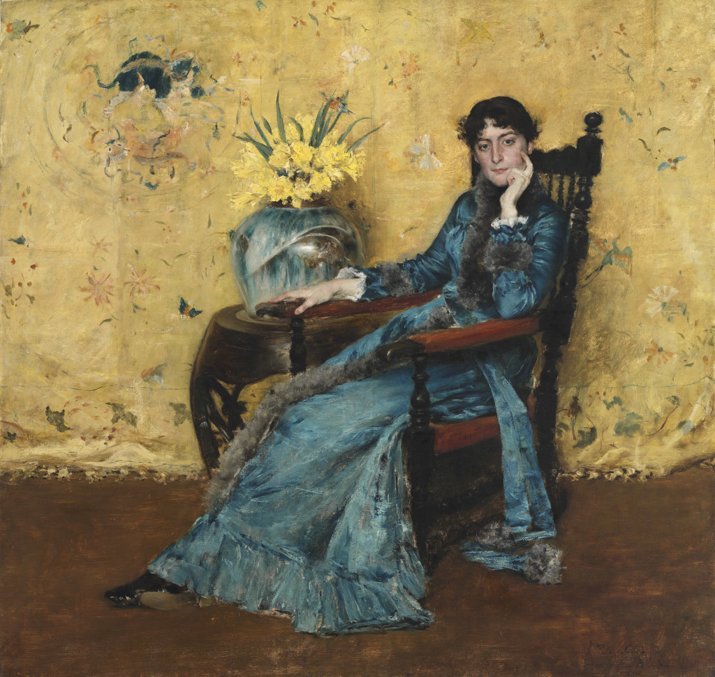 Portrait of Dora Wheeler William Merritt Chase (American, 1849–1916) 1882‑1883 Oil on canvas *The Cleveland Museum of Art, Gift of Mrs. Boudinot Keith in memory of Mr. and Mrs. J. H. Wade *Courtesy, Museum of Fine Arts, Boston
