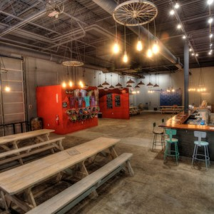 The Tap Room at Night Shift Brewing