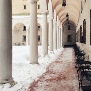 Afternoons at the Boston Public Library