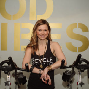 How Recycle Studio's Cate Brinch Finds Balance – On and Off the Bike